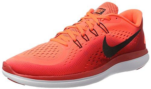 Nike Men's Flex 2017 Rn Hyper Orange/Black Ankle-High Running Shoe - 8.5M