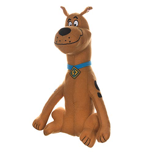Scooby-Doo Warner Brothers Figure Small Dog Toy - 9 Inch Plush Dog Toy for All Dogs   Brown Colored Soft Fabric Plush Dog Toy, Chew Toy for Dogs Toys for Dogs,FF12863
