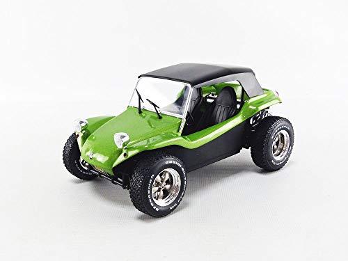 Solido 421185380 S1802703 Manx Meyers Buggy mit Softtop, Baujahr 1968, Modellauto, Maßstab 1:18, grün