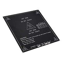 CLJ-LJ MK3 3Dプリンタ用アルミ24V、12Vヒートベッド温水ベッドプラットフォーム214x214x3mm PCBホットプレート