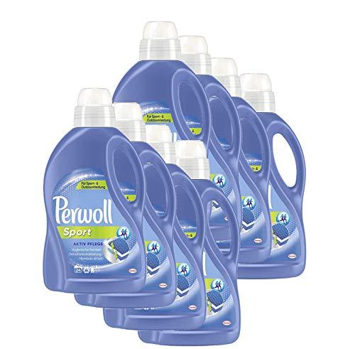 Perwoll Sport Aktiv Pflege Spezialwaschmittel, 192 (8 x 24) Waschladungen, für Sport- und Outdoorkleidung