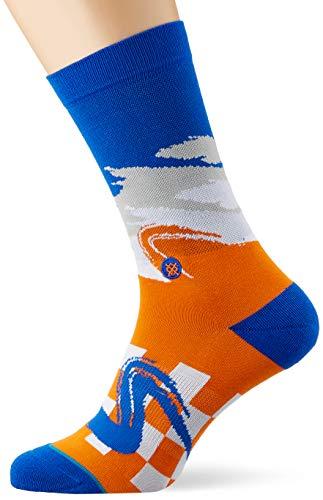 Stance Knicks Wave Racer Chaussettes Homme, Orange, m