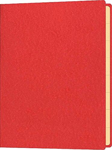 Briefmarkenmappe, für Inhalte bis DIN A5, Maße (BxH): 180 x 250 mm, rot
