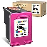 ATOPINK - Cartucho de tinta remanufacturado para HP 300 300XL para HP DeskJet D1620 D2530 D2645 F2410 F4210 F4400 F4500 Envy 100 110 120 D410a PhotoSmart C4600 C470 0 D11. 0A (1xColor)