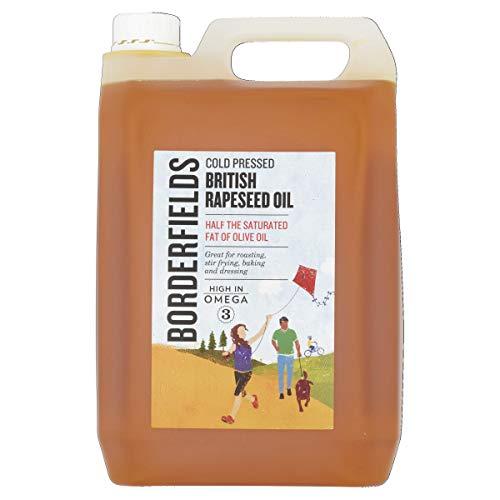 Borderfields British Premium kaltgepresstes Rapsöl, 5 Liter