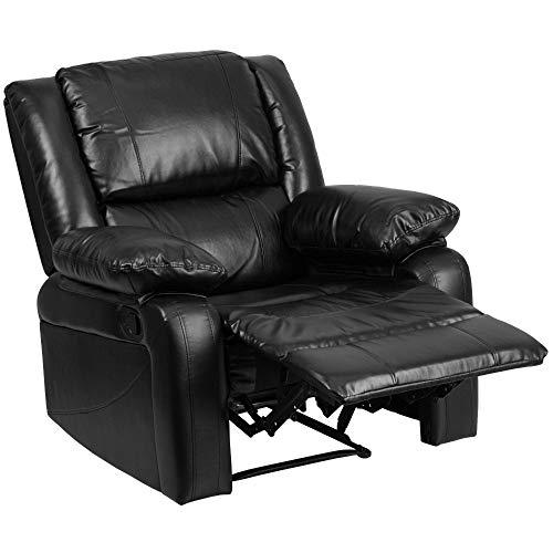 Flash Furniture Love Seats, Black LeatherSoft