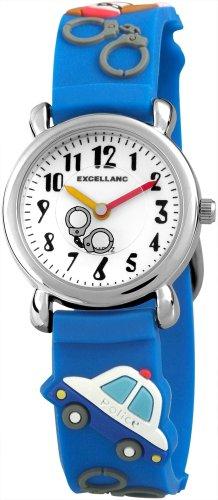 Excellanc Unisex-Armbanduhr Analog Quarz Kautschuk 407030000011