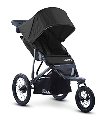 Joovy Zoom 360 Ultralight Jogging Stroller, Large Canopy, Lightweight Jogger, Extra Large Air Filled...