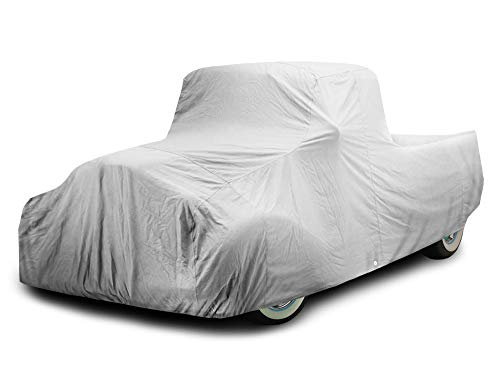 Crevelle Custom Fit 1948-1956 F1 & F100 Truck Car Cover Silver Metallic Covers