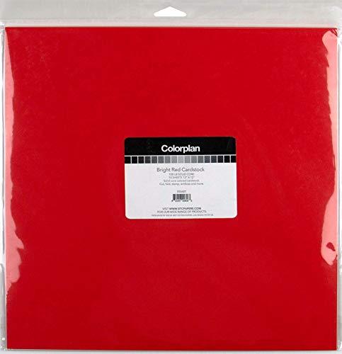 ColorPlan Karton, 30,5 cm, Hellrot