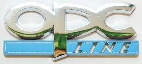 Chrom OPC Line Heckklappe Emblem Kofferraum