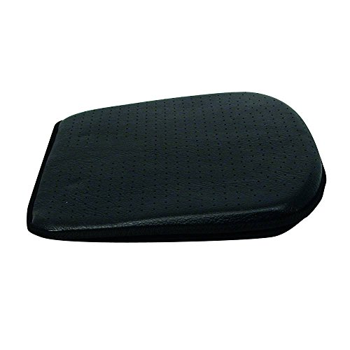 Carpoint 0323291 Car Seat Pad in Black Leather Look 'Luxury'