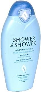Shower to Shower Morning Fresh Body Powder, 8 Oz (3 Pack)