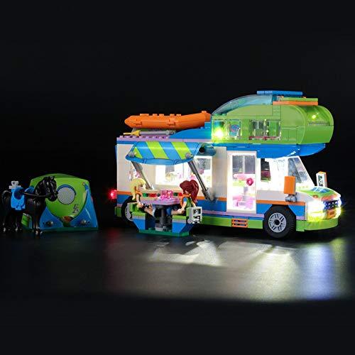 Kit De Iluminación Led para Lego Friends Autocaravana De MIA, Compatible con Ladrillos De Construcción Lego Modelo 41339(Juego De Legos No Incluido)