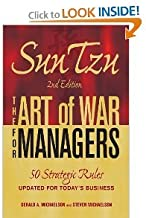 Sun Tzu The Art of War for Managers 2nd Second edition byMichaelson