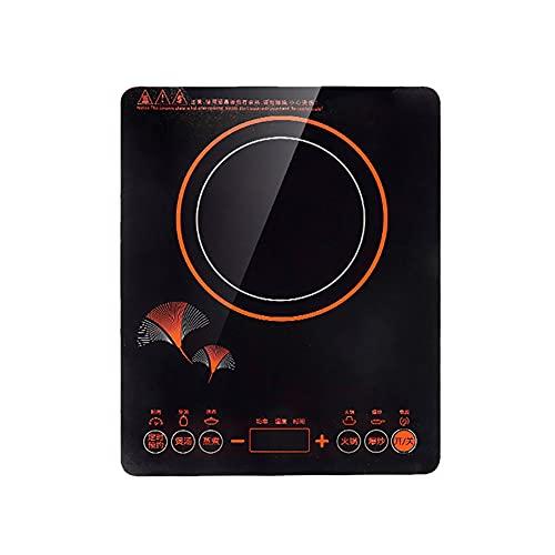 Placa inducción Placa cocina portátil de 2500 W temporizador Sensor pantalla LED Temporizador táctil Quemador encimera portátil 5 quemadores encimera potencia inducción Placa vitrocerámica