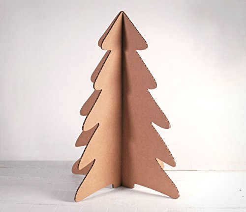 Selfpackaging Albero di Natale di Cartone - M