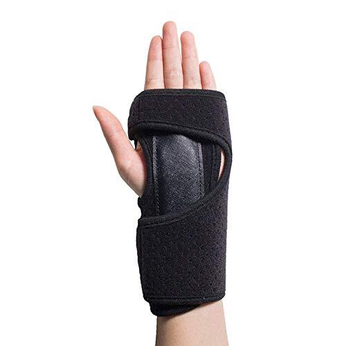Separadores de dedos de los pies para mujeres, dedos Guantes de rehabilitación: antiespasticidad Férula Vendaje funcional para manos Corrector de dedos Cuidado de la salud Guantes fijos, izquierda