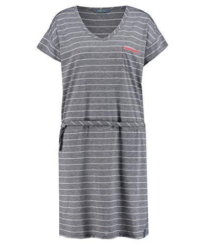 Meru Damen Bergsport Kleid Windhoek grau (13) L