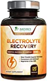 Electrolyte Pills Extra Strength Salt Tablets 690mg - Keto, Cramps, Rehydration, Recovery - Made in USA - Electrolytes Replacement Capsule with Magnesium, Sodium, Potassium, Calcium - 120 Capsules