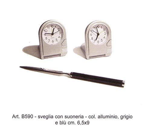 Uhr Wecker abschließbar ref. B590Gold & Domeniconi
