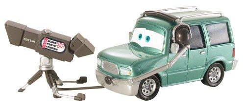 Cars 2 - Vehículo Nelson Blindspot (Mattel BDW64)