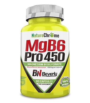 Magnesio bisglicinato. Magnesio con vitamina b6. Magnesio cápsulas con Vitamina B. El magnesio ofrece multitud de beneficios para la salud. Cada bote contiene 90 cápsulas. Magnesium. Vitaminas.