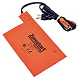 Zerostart 3400036 Silicone Pad Battery Heater, 5½' (14 cm) x 8½' (21.6 cm) | CSA Approved | 120...