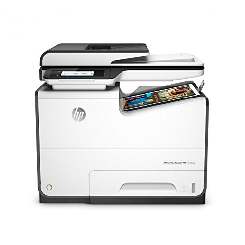 HP PageWide Managed P57750dw 2400 x 1200DPI Inyección de tinta térmica A4 50ppm Wifi Negro, Gris multifuncional - Impresora multifunción (Inyección de tinta térmica, Colour printing, Colour copying, Colour scanning, Colour faxing, 80000 páginas por mes)