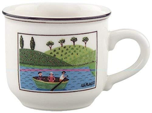 Villeroy & Boch Design Naif Tasse à Mokka/Expresso, 100 ml, Porcelaine Premium, Multicolore