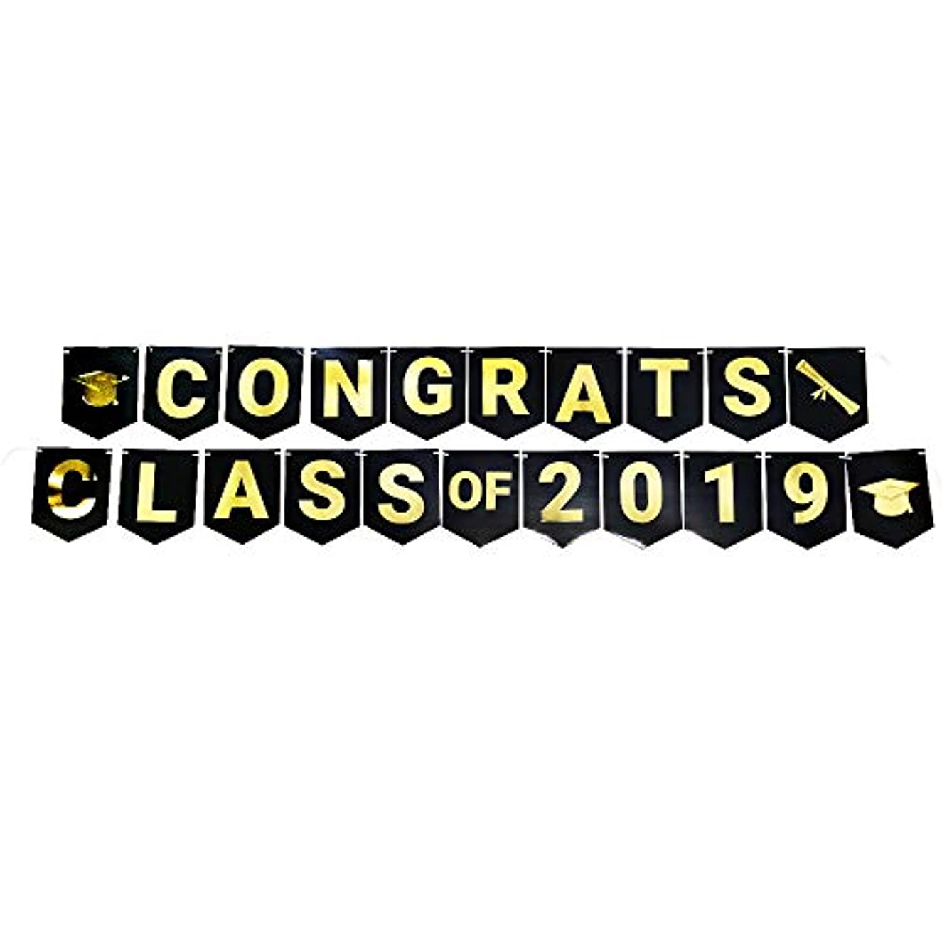 Graduation Banners, Graduation Party Supplies, Jointed 2019 Banner, Party Decorations, Hanging Room Decorations