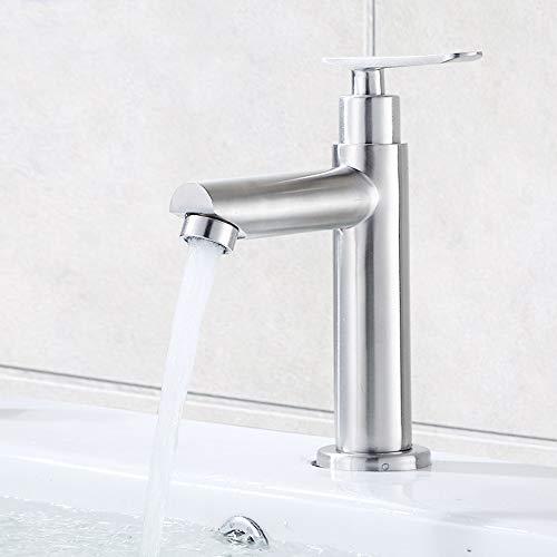 MorNon Kaltwasser Armatur Standventil Wasserhahn Waschbecken Küchenarmatur Bad Waschbecken Auslassdüse