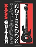 Premium Bass Guitar Tablature Notebook: Fast Learning.. Fast Playing: Blank Tab Sheets Book For Musicians, Song Writers, Educators and Students | Excellent For Gifts