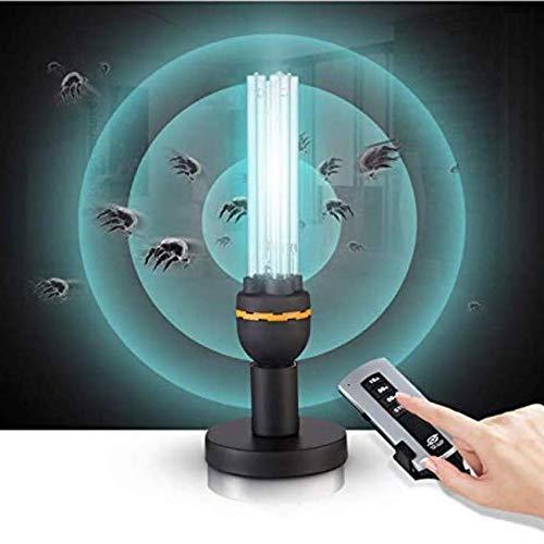 generatore di ozono lampada uv NZBⓇ Purificatore d'Aria Generatore di ozono Quarzo UV Lampada germicida compatta CFL Clean & Sanitizer by Eliminate & Kill Acari batterici batterici