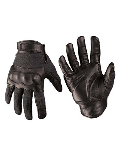 Mil-Tec Tactical Gloves Leder/Aramid schwarz Gr.M