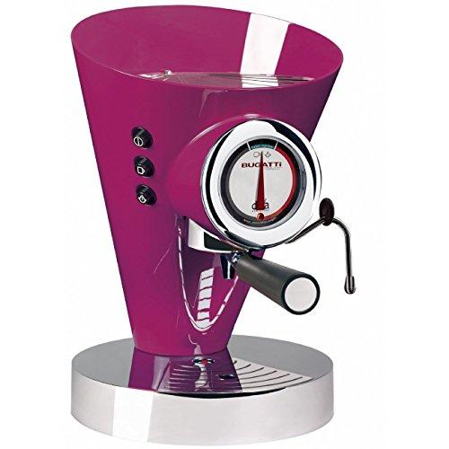 Casa Bugatti 15-EDIVACL Kaffeevollautomat Diva Evolution, violett