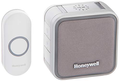 Honeywell RDWL515A2000 Doorbell Portable Wireless Doorbell & Push Button - 5 Series, WHITE