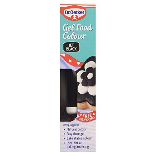 Dr. Oetker - Gel Food Colour - Jet Black - 10g