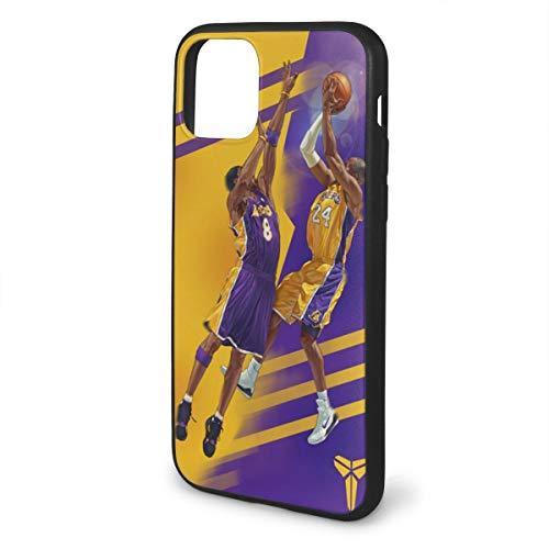 Forever Collectibles iPhone 11 Hülle, Basketball-Star, modisch, stoßfest, Kratzfest, weiche Schutzhülle für iPhone 11 Serie, Kobe-Lakers, iPhone 11