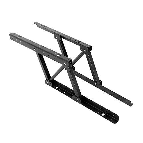 Boshen 1Pair Multi-Functional Lift Up Top Coffee Table Lifting Frame Furniture Mechanism Fitting Spring Hinge Hardware