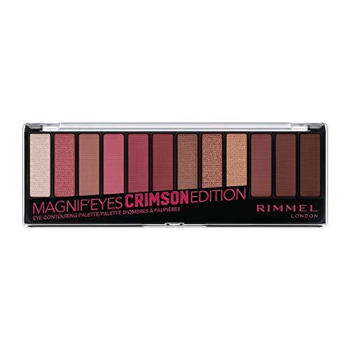 Rimmel Magnif'eyes Eyeshadow Palette, Crimson Edition, Pack of 1