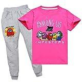 XXHDEE Among Us - Pantalones de manga corta para primavera y verano unisex (color: rosa, tamaño: 150 cm)