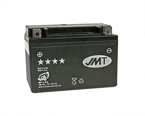 Batterie JMT GEL–YTX912Volt–Suzuki GSF 600U Bandit GN77B Jahr der Konstruktion 1995–1999