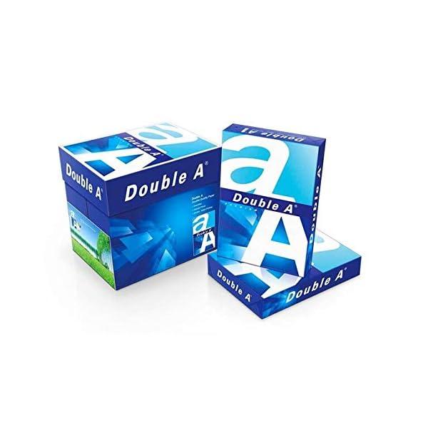 Papel para fotocopiadora A5, 80 g/m², color blanco brillante, paquete de 500
