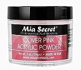 Mia Secret Cover Pink Acrylic Powder 2 Ounce (2 oz)