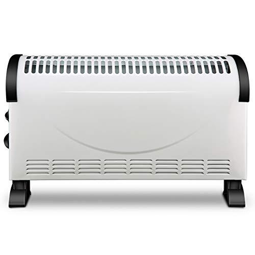 Radiador de calentador de convección independiente, con termostato ajustable / 3 configuraciones de calor ajustables (750/1050 / 1800 W) / Eléctrico / Calefacción por convección / Radiador sin aceit
