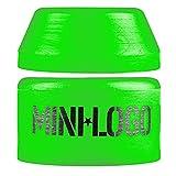 Mini-Logo Skateboard Zubehör Bushings 84A Green Soft Pack