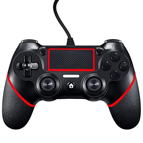 PS4 Controller, Mando para PS4, Controlador De Juegos Con Cable para PlayStation4...