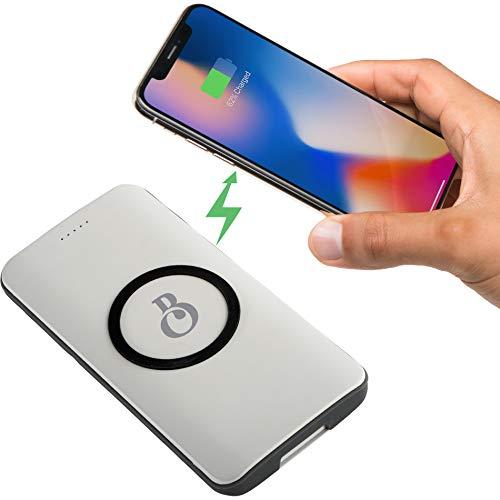 Swift 6000 mAh Li-Polymer Wireless Charging Power Bank with USB Port