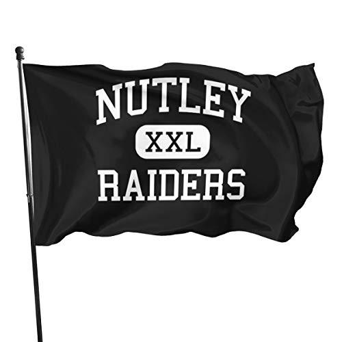 Generic Brands Nutley – Raiders – High School – Nutley Drapeau du New Jersey